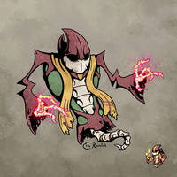 April Ghouls! Necromancer by Monster-Man-08