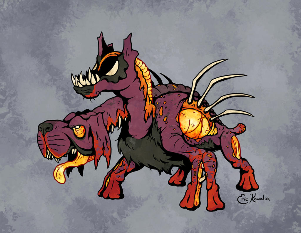 April Ghouls! Hellhound by Monster-Man-08