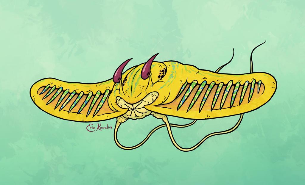 Lebtin Javelin Fish by Monster-Man-08