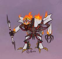 Sketchformers: The Fallen by Monster-Man-08