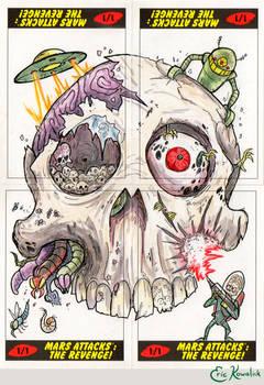 Mars Attacks: The Revenge -- Skull Puzzle