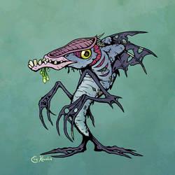 Halloween '17: FishMen by Monster-Man-08