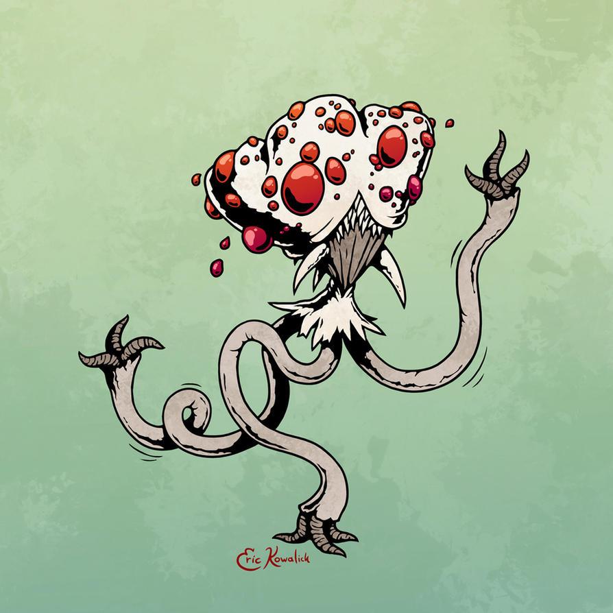 Halloween '17: Mushroom Men by Monster-Man-08