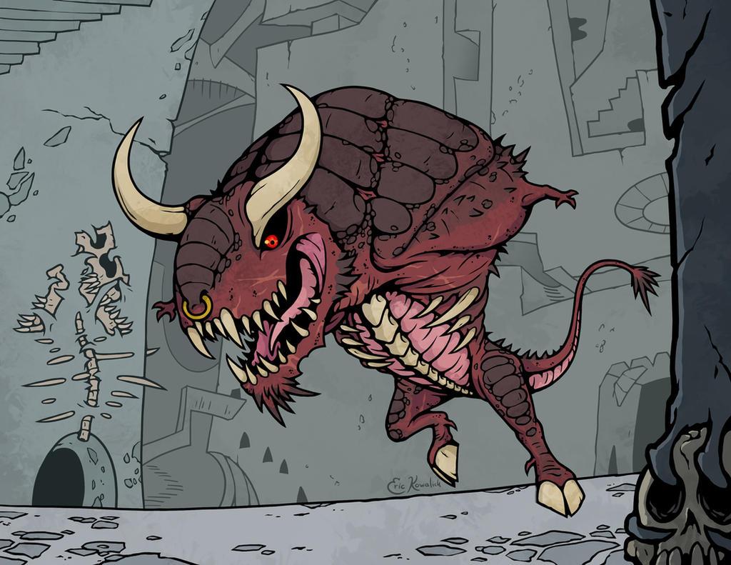 Taurtaurus by Monster-Man-08