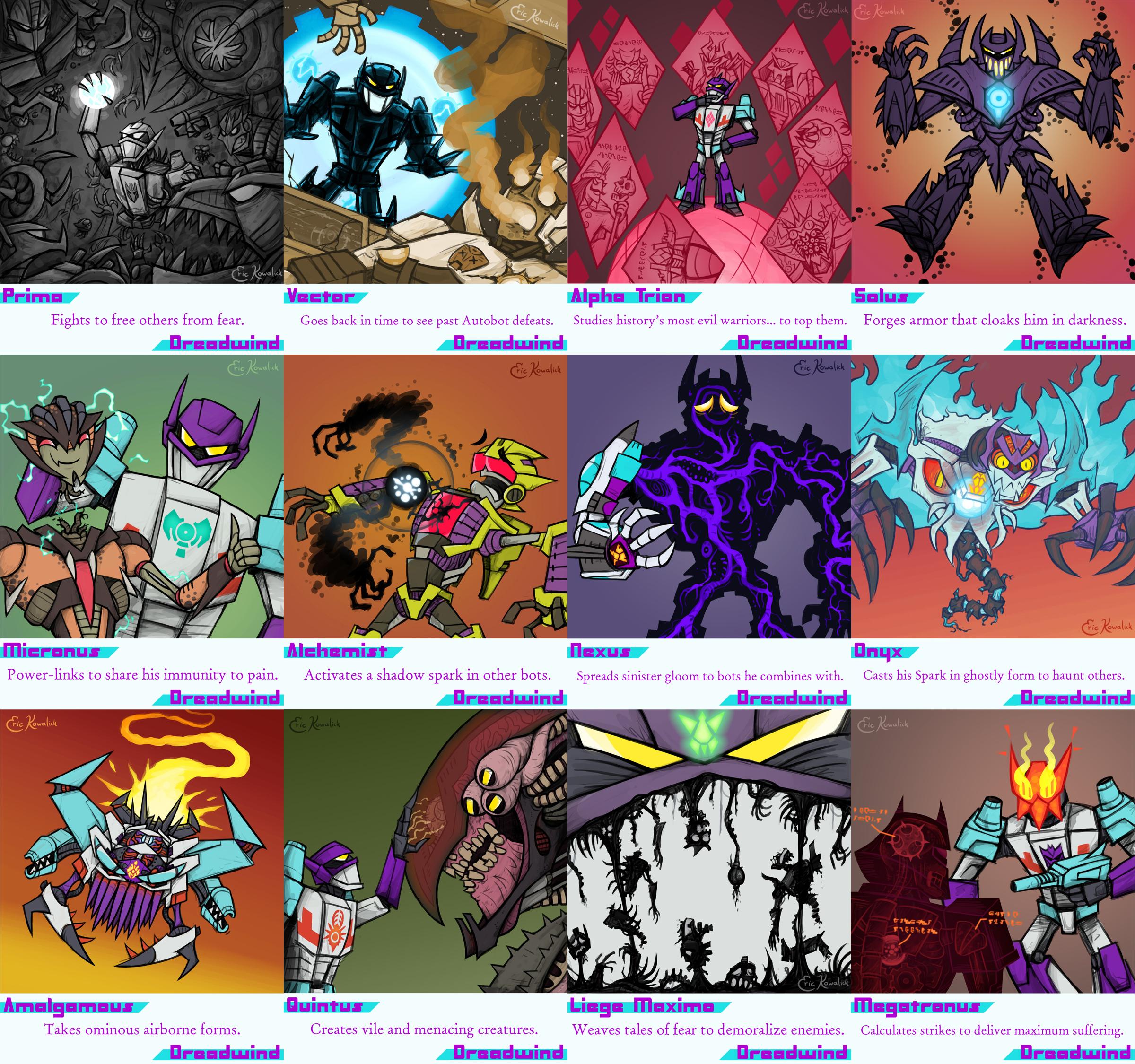Sketchformers: Dreadwind by Monster-Man-08
