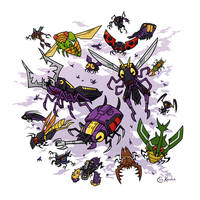 My Bugs, My Bugs, My Bugs by Monster-Man-08