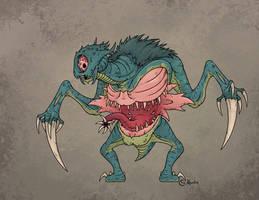 Halloween '18: Mapinguari by Monster-Man-08