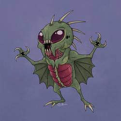 April Ghouls! Chupacabra by Monster-Man-08