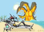Sketchdump - Who Disrupts My Vacation?