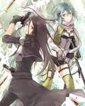 SAO / Gun Gale Online - Kirito and Sinon 19.12.15