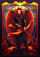 commission: Archangel Uriel by MathiaArkoniel
