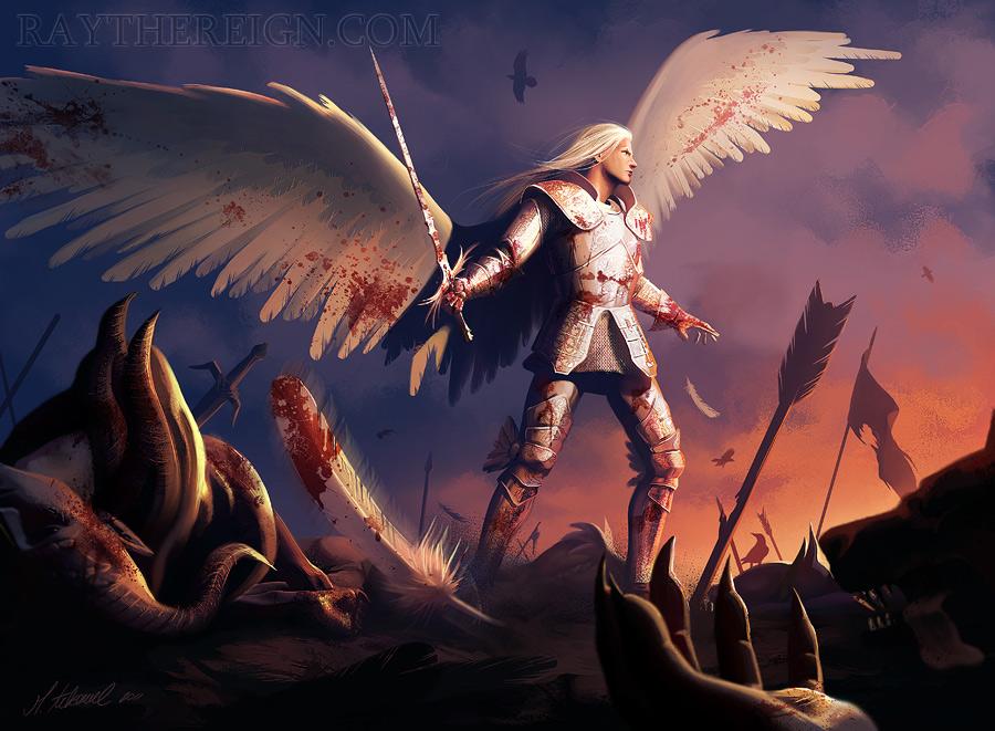 commission: Angel Karidon by MathiaArkoniel