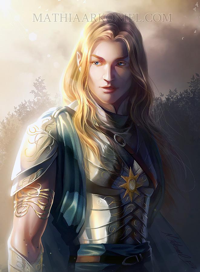 commission: Glorfindel by MathiaArkoniel