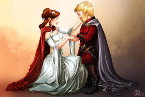 asoiaf: Tyrion and Sansa's Wedding