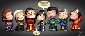 elantra: Kaylin and the Dragon Court