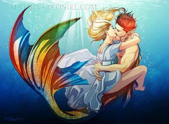 original: Underwater love by MathiaArkoniel