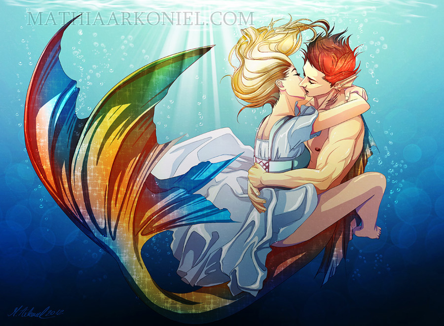 original: Underwater love