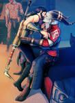dragon age: Hawke and The Arishok