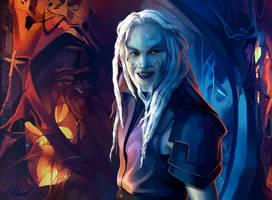 stargate atlantis: Eddie the Wraith