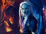 stargate atlantis: Eddie the Wraith by MathiaArkoniel