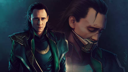 thor - the avengers: Loki by MathiaArkoniel