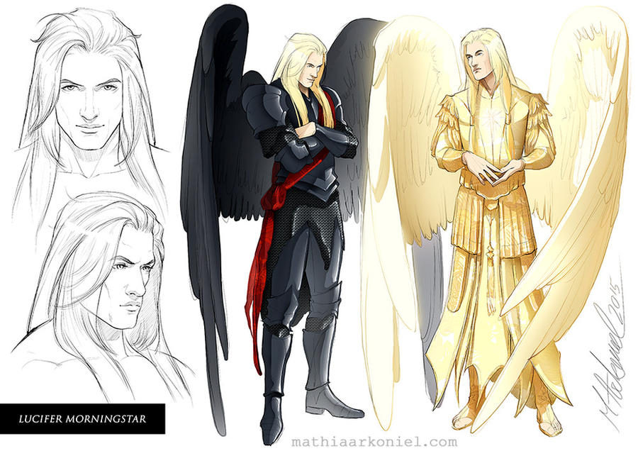 original: Lucifer Morningstar by MathiaArkoniel