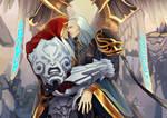 darksiders: War and Azrael
