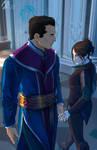 elantra: Kaylin and Lord Diarmat 2