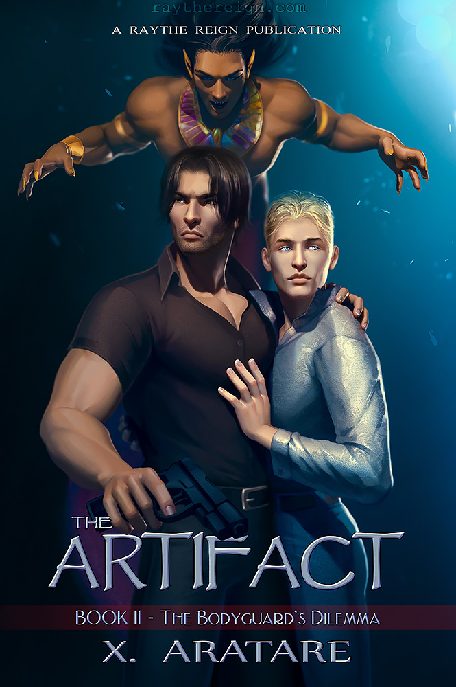 commission: The Artifact book2 Cover by MathiaArkoniel