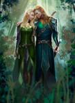commission: Elf Couple