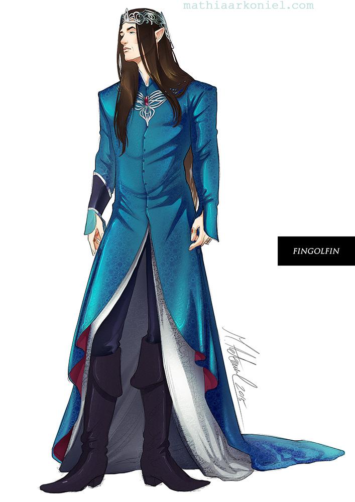silmarillion: Fingolfin Concept by MathiaArkoniel