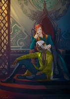 commission: Raven Xial by MathiaArkoniel