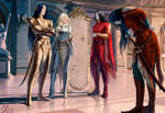 elantra: High Lord, Consort, Evarrim and Ynpharion by MathiaArkoniel