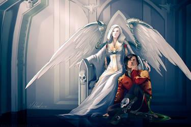 commission: Zayel and Darius by MathiaArkoniel