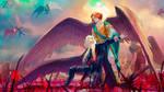 original: Michael vs Lucifer by MathiaArkoniel