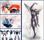 Transformers watercolor