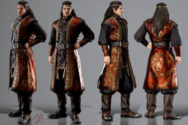 elantra: Dragon Emperor, Dariandaros v.2.0 by MathiaArkoniel