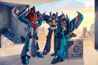 transformers: IDW Seekers by MathiaArkoniel