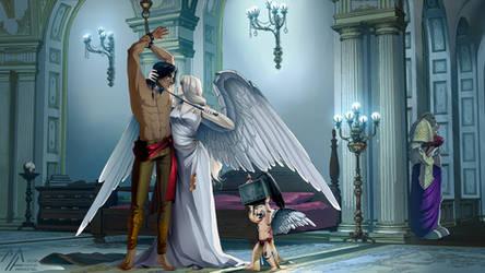 commission: Warhammer 40k by MathiaArkoniel