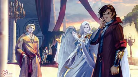 commission: Arkham, Zayel and Darius