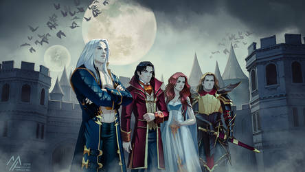 commission: Dmitry, Constantin, Elsbeth, Vaclav