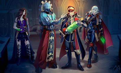 commission: Warhammer 40k - Prodigals