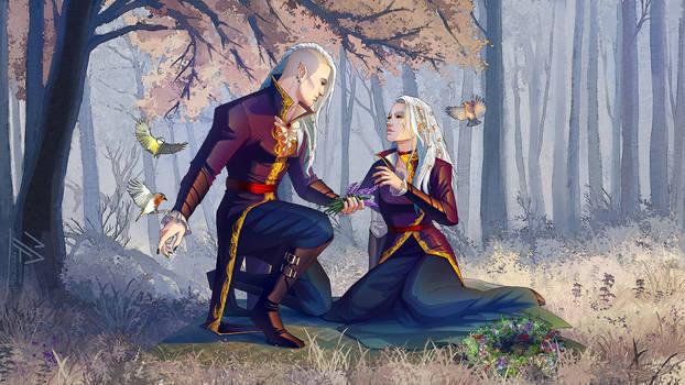 commission: Dark Elves