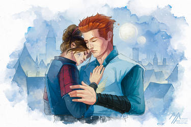 elantra: Kaylin and Severn