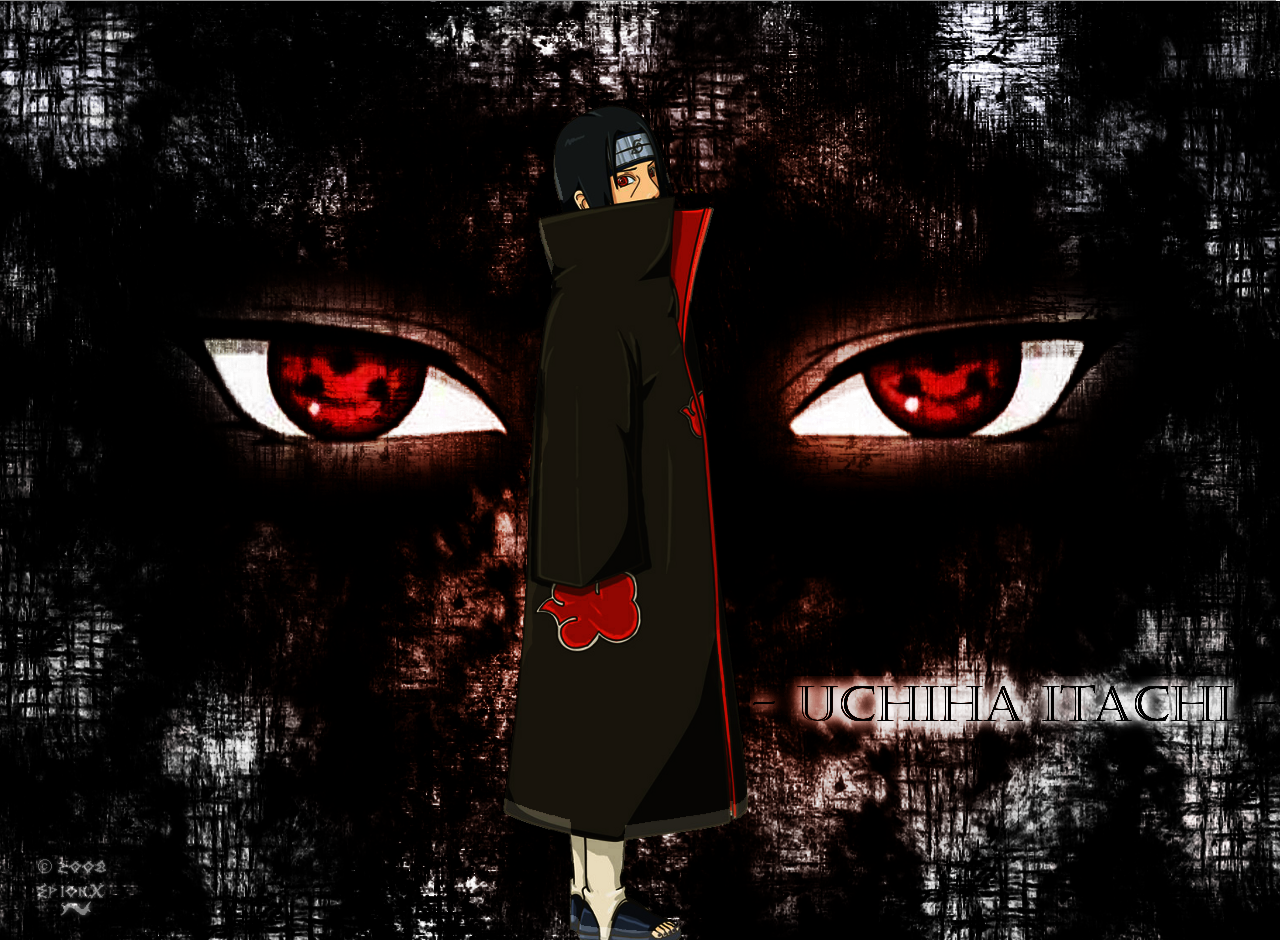 Itachi Mangekyou Sharingan Wallpaper