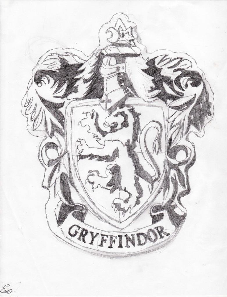 Gryffindor Crest WIP by Swag-girl on DeviantArt