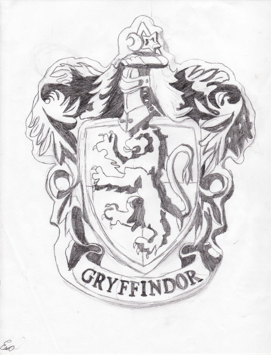 Gryffindor Crest WIP By Swag Girl
