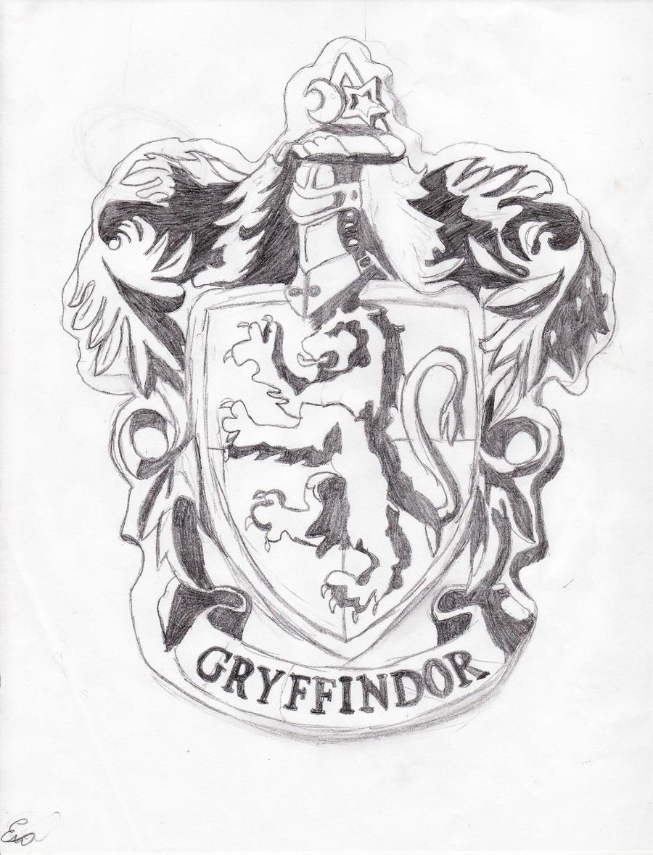 Gryffindor Crest WIP By Swag Girl