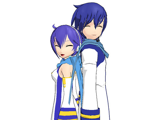 MMD: KAIKO and KAITO by gothicjinx101 on DeviantArt
