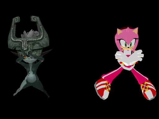 MMD Newcomer: AMy Rose by gothicjinx101